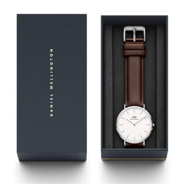 Daniel Wellington Mens Watch (0209DW) - Bristol Classic - Package