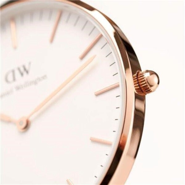 Daniel Wellington Ladies Watch (0507DW) - St. Mawes Classic - 36mm - Crown